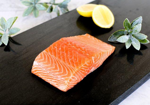 Premium Atlantic Salmon-Skin Off (250g) Each