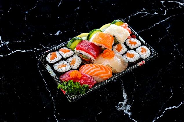 Assorted Sushi Bento