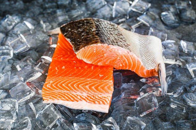 Atlantic Salmon Portions-Skin On (300g) Each