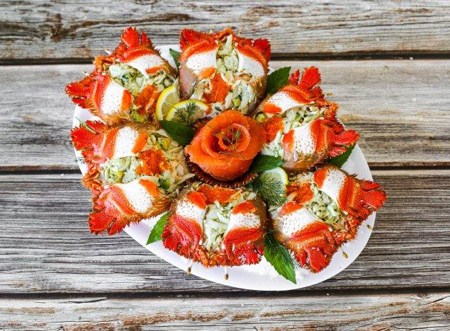 Crab Meat Lava Platter