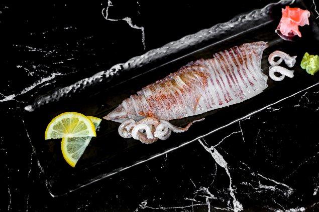 Calamari Sashimi