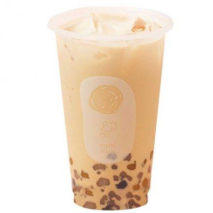 MACHI Black Milk Tea with Mini Taro Balls (M)