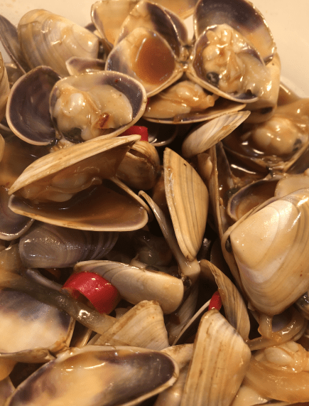Cooked Live pipis (500gr) + FREE NOODLE