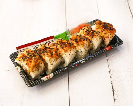 Sushi Roll: Soft Shell Crab (6pc)