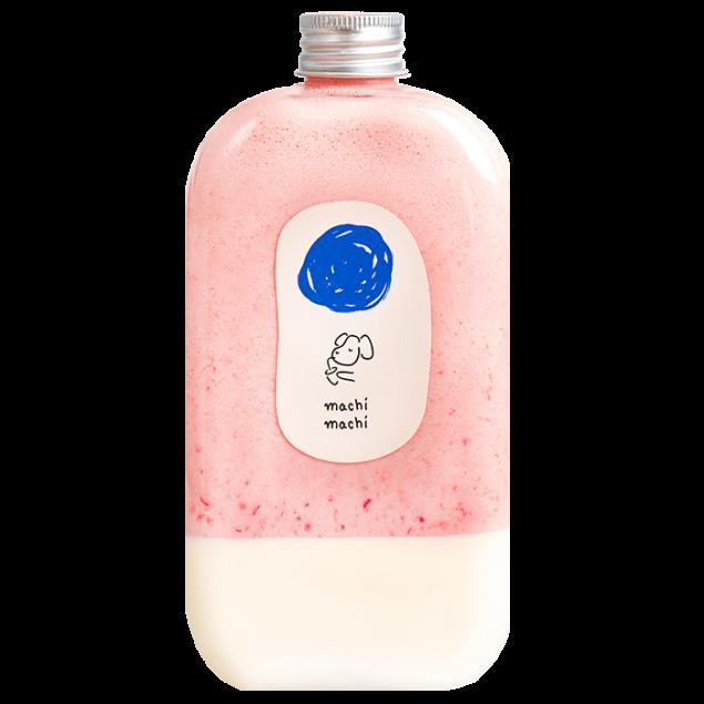 MACHI Fresh Strawberry Panna Cotta