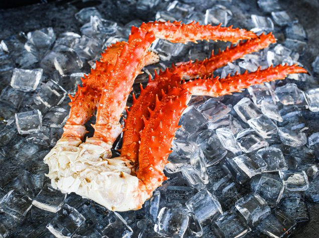 Cooked King Crab Legs (Min 750g)