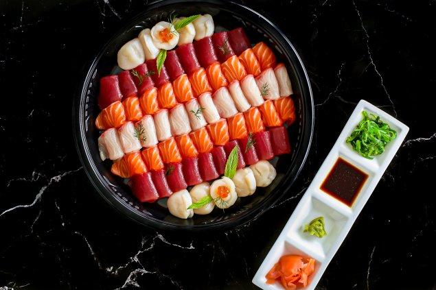 Peter's Sashimi Platter
