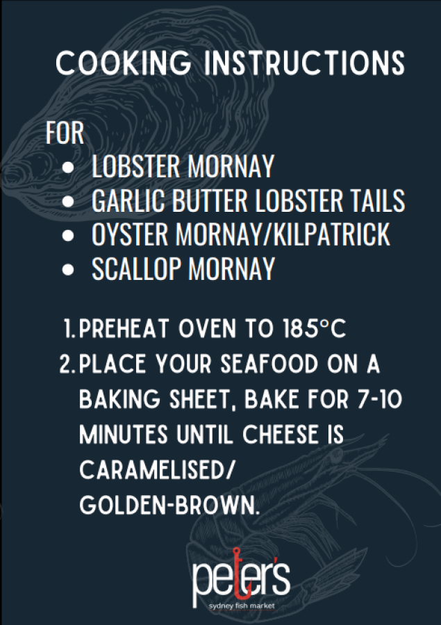 Oyster Kilpatrick (Half Dozen) (UNCOOKED)