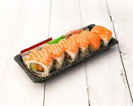 Sushi Roll: Salmon (6pc)